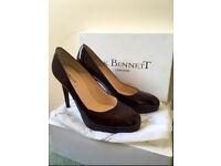 Immaculate burgundy LK Bennett heels. Size 7.5