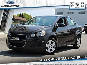 2013 Chevrolet Sonic **LS*5 VITESSES *BLUETOOTH*HITCH**