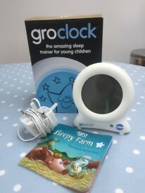 groclock sleep training clock