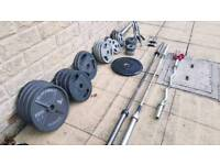 300kg plus Olympic Weights and Bars