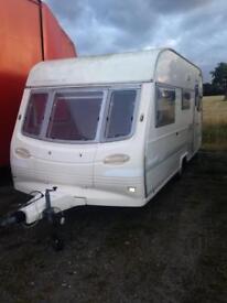 1997 Avondale 4 berth caravan