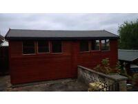 Red Cedar Wooden Workshop