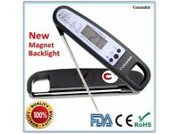 Food Meat Cooking Thermometer Digital Instant Read Candy Thermometer Probe!