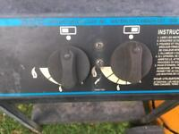 Gas BBQ and Gas Cylinder