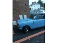 Triumph herald 13/60 1969 tax exempt new MOT