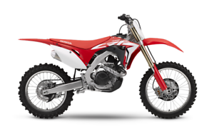 2017 Honda CRF450R with Electric Start