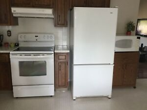 KENMORE APPLIANCES ALMOND IN COLOR