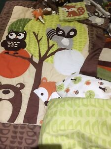 Foxy and friends crib bedding set - Yes! Still available
