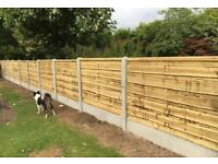 🐛Heavy Duty Tanalised Wooden Garden Fence Panels > Various Styles