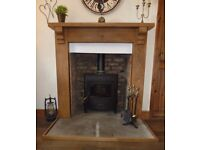 Arada Stratford Ecoboiler 16kw HE Multifuel Boiler Stove Fabulous condition used less than 4 yrs