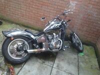 125cc Motorbike AJS Chopper
