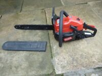 Mountfield 27.3cc petrol chainsaw only used once