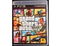 SONY PLAYSTATION PS3 GRAND THEFT AUTO 5 GTA 5 V GTA5 GAME WITH MAP