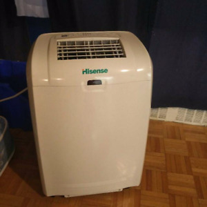 REDUCED!! HISENSE PORTABLE AIR CONDITIONER WITH REMOTE!