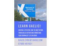 Scottish Gaelic Tuition