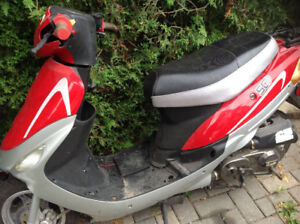 Two Baja Motor Sports Scooters for parts