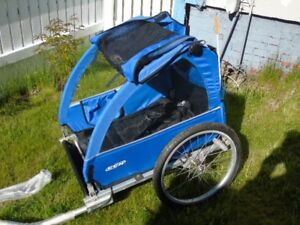 CCM Bike Trailer that converts to an offroad stroller