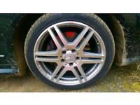 Mercedes E Class Amg 18 alloy wheel genuine