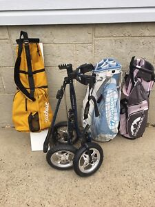 Just titliest and sun mountain bags left to sell
