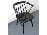 Painted Wooden Desk Chair