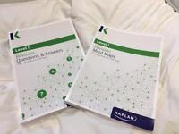CFA 2017 Level 1 Kaplan Revision Mind Maps and Questions and Answer Books