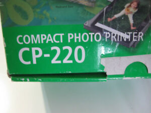 canon Photo printer cp 220