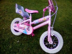 Girls Enchanted Disney Princess bike (2-5)