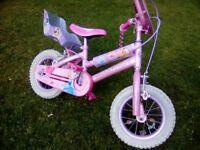 Girls Enchanted Disney Princess bike (2-5)