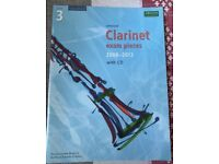 Clarinet exam pieces grade 3 2008-2013