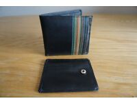 Men's black leather wallet **brand new**