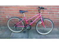 Girls Concept Sonata bike 14 inch frame, 24 inch wheels, working order and ready to ride