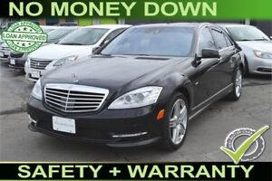 2012 Mercedes-Benz S-Class S550 4-MATIC, Yours For $99 Week