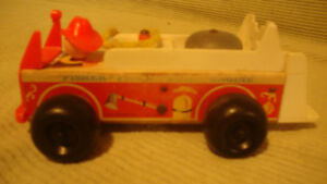 Fisher Price pull fire truck for Sale