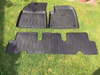Citroen C4 Picasso Original rubber mats (front and rear) for models 2013 onwards