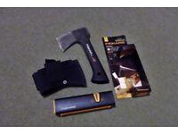 Fiskars Mini Axe & Sharpener