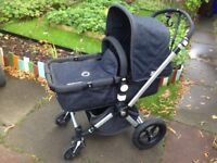 Bugaboo Cameleon (denim edition) - very good condition with extras