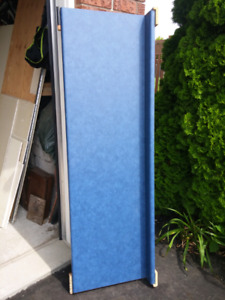 "Blue laminate countertop 74"" x 23.5"""