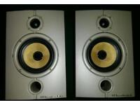 Wharfedale diamond bookshelf high quility speakers kevlar cone high end home audio