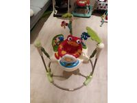 Fisher-Price Rainforest Jumperoo Baby Roaring Bouncer. 40 GBP ono