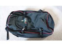 Berghaus 'mustang' black with red trim rucksack in good order