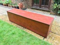 Garden Box Bench Seat