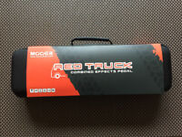 Brand new Mooer Red Truck guitar effects with power supply included