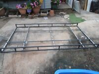 Full length roof rack. For van or possibly large car.