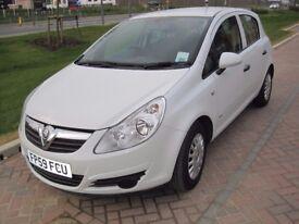 Vauxhall Corsa 1.3 CDTI Diesel ecoFLEX 2010, 5 Doors, Air Con, 11 Months MOT