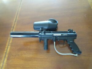 Tippmann A5 with Flatline barrel