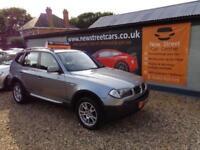 BMW X3 D SE, Grey, Manual, Diesel, 2005