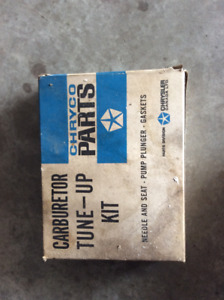 Barn Find Carburetor kit, new in box. Assuming for a slant six,