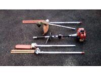 Mutitool Hedge trimmer / Strimmer / Pruner