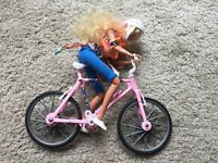 Bike Barbie