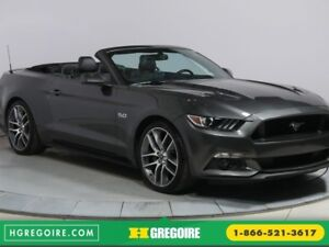 2016 Ford Mustang GT CONVERTIBLE PREMIUM CUIR NAVIGATION MAGS 20